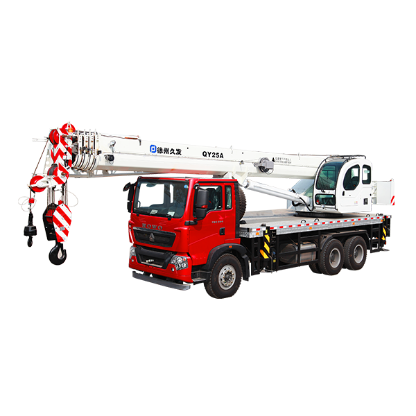 XJCM brand 25 ton truck with crane for sale Featured Image