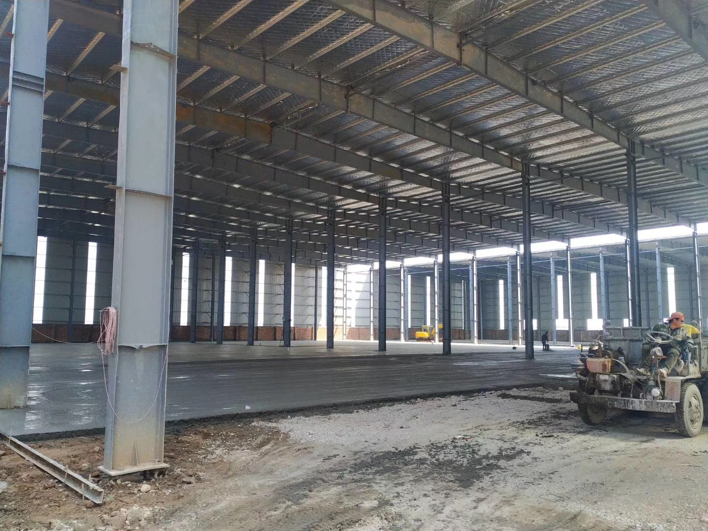 New Warehouse Construction