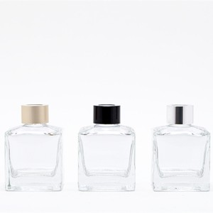 100ml Square glass diffuser bottle
