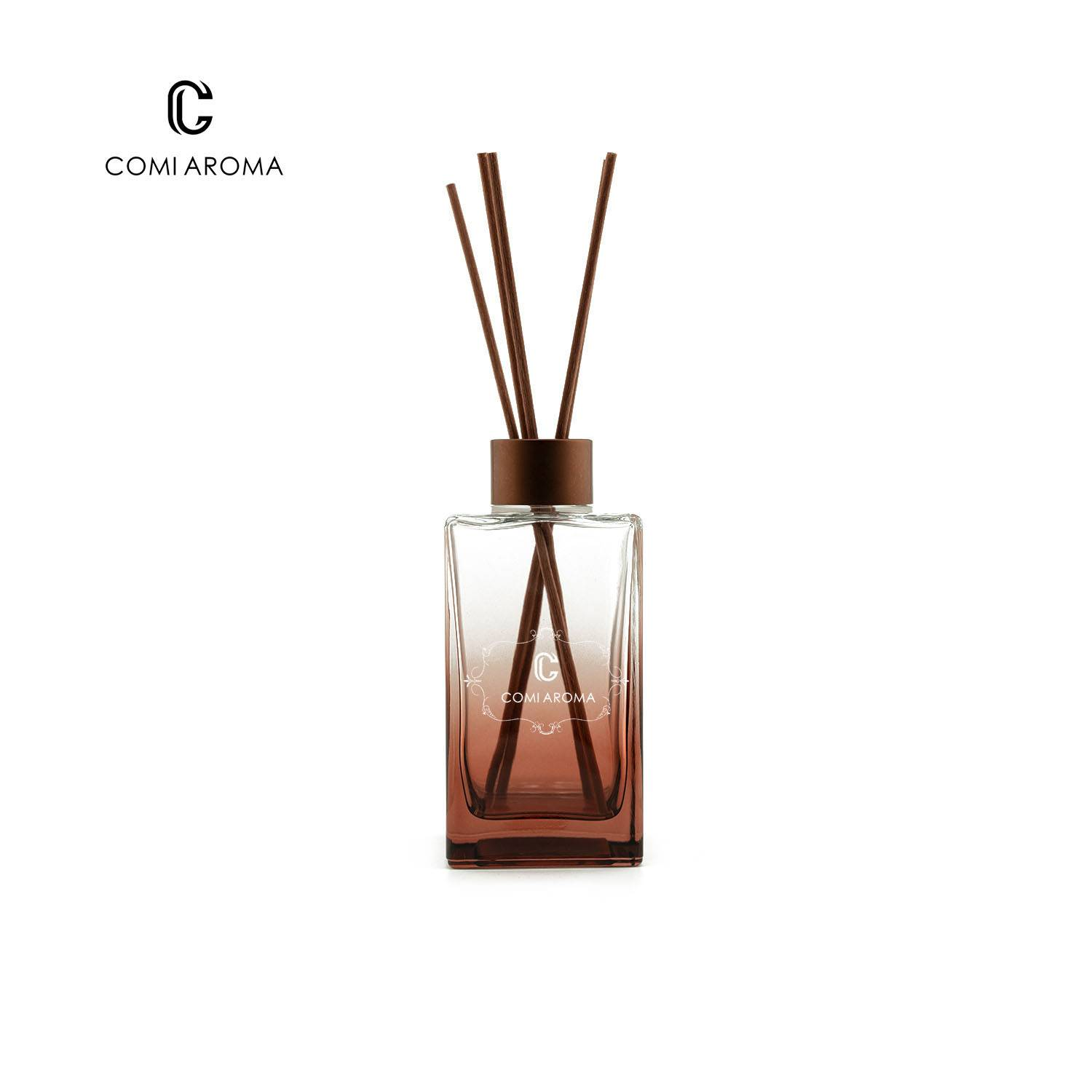 200ml Long Square Glass Diffuser Bottles Featured Image
