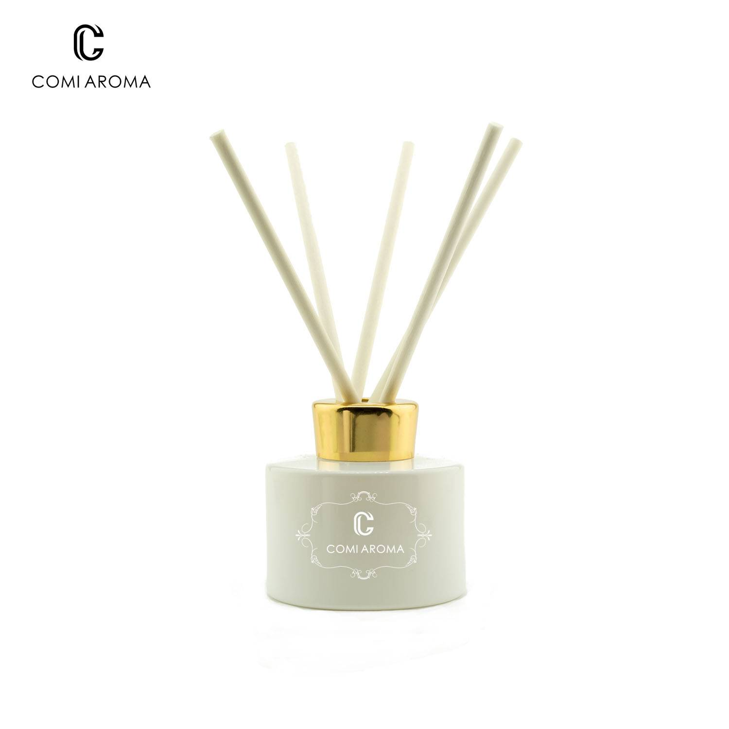 170ml Round Shape Diffuser Aroma Glass Bottles