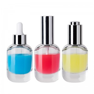30ml Glass Bottle Cosmetic Packaging