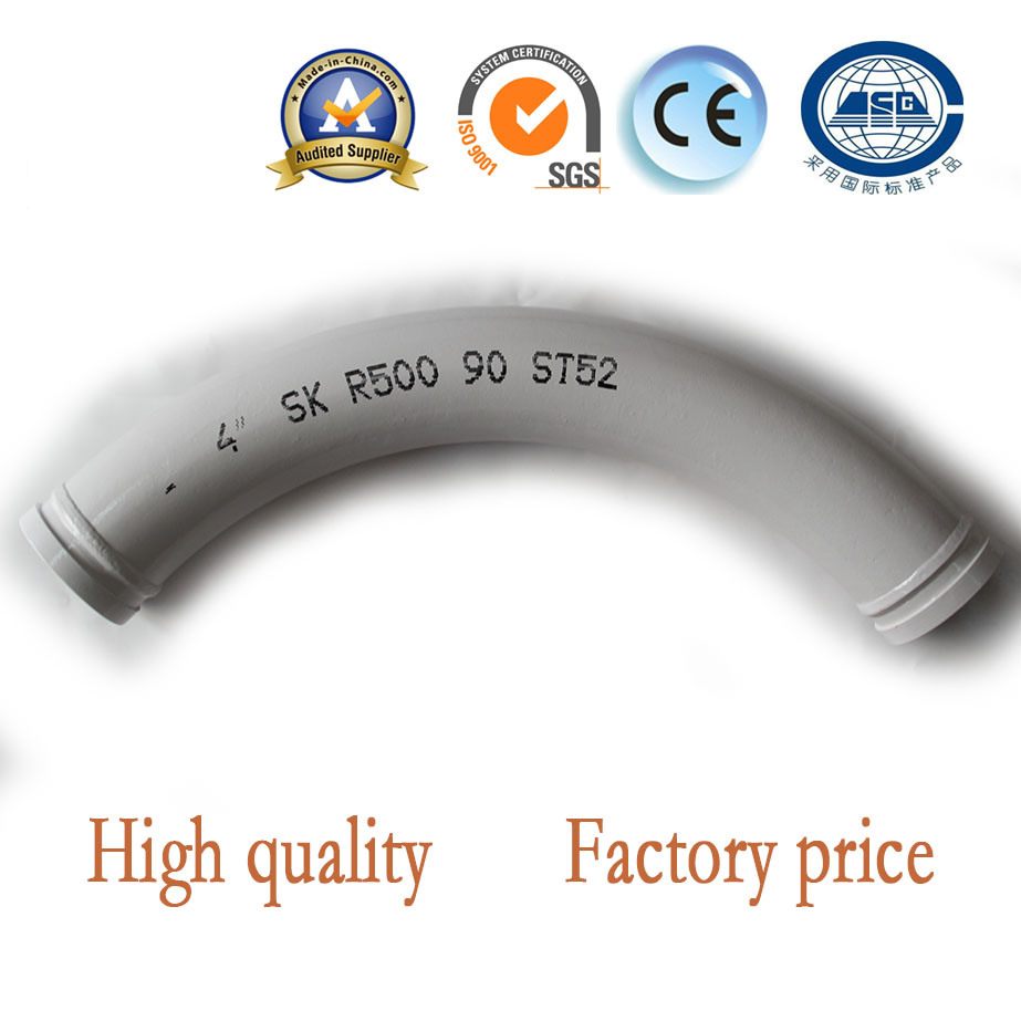 Concrete Pump Spare Parts Bend Pipe Serving in Critical Moments