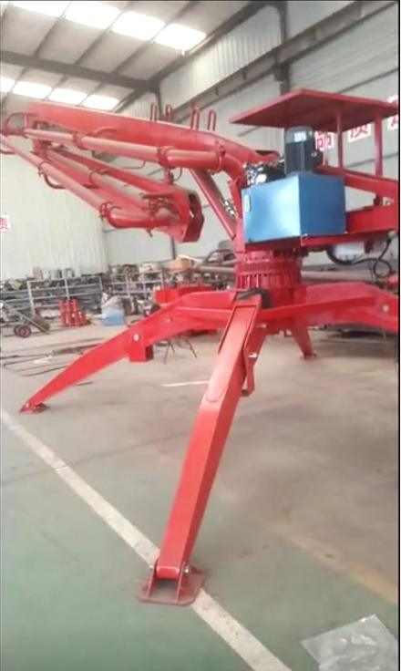 Hydraulic Concrete Distuibutors Concrete Hydraulic Placing Boom
