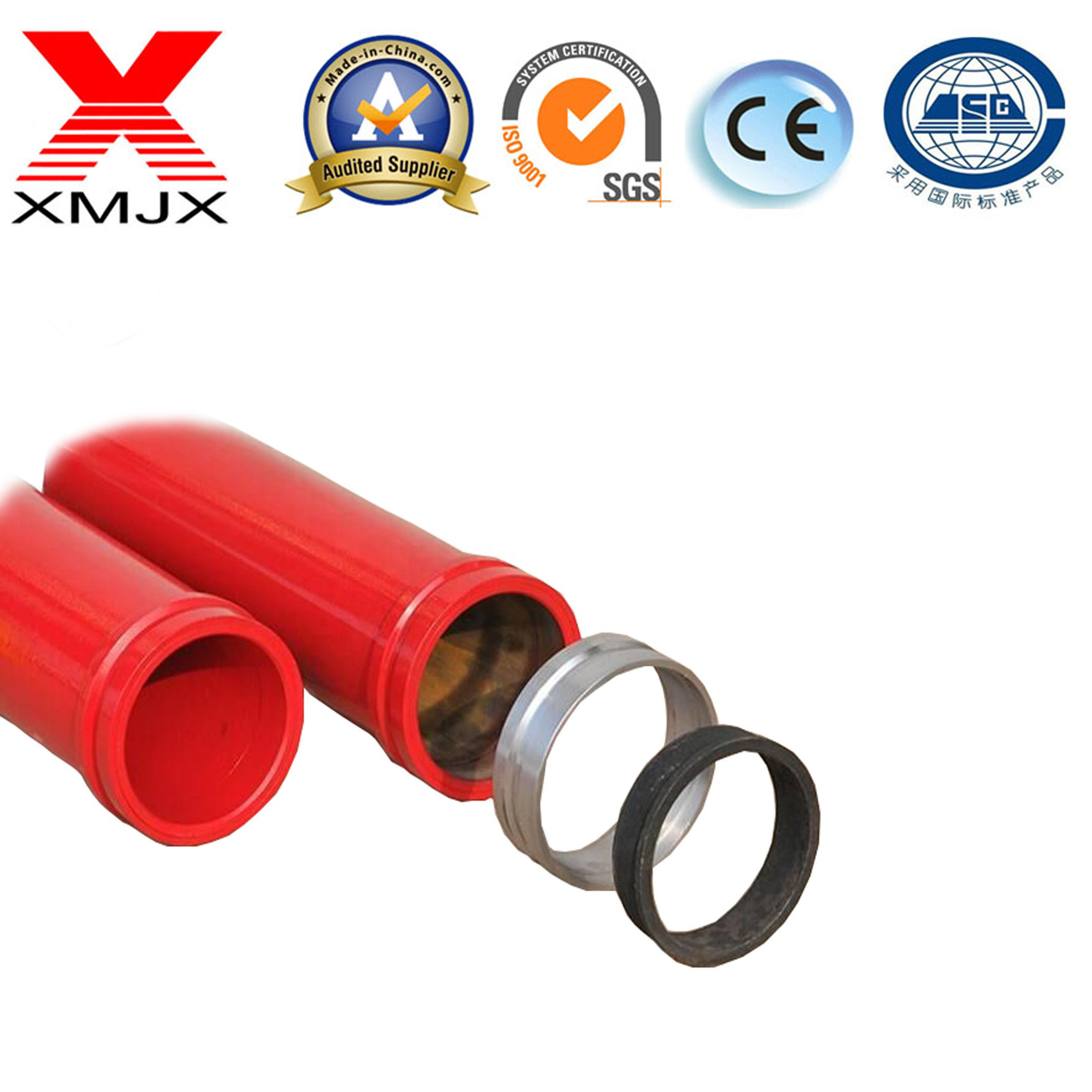 2020 Hot Sale Competitive Top Quality Concrete Pump Pipe in Ximai Machinery