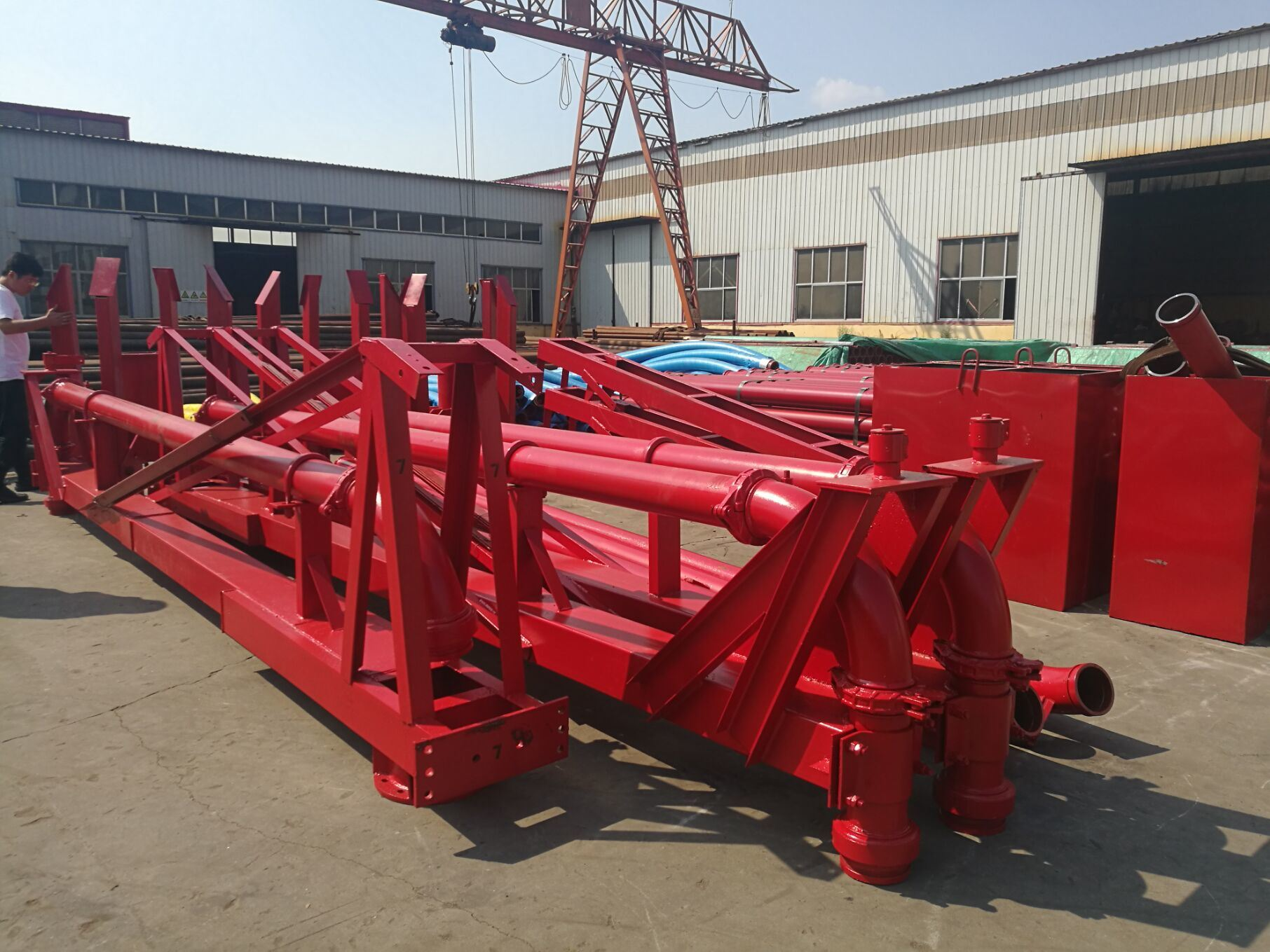 Placing Boom 12m 15m 18m or Customized Concrete Placer