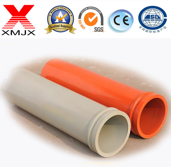 Wear Resistant Concrete Pump Booms Automatic Welding St52 Steel Tube