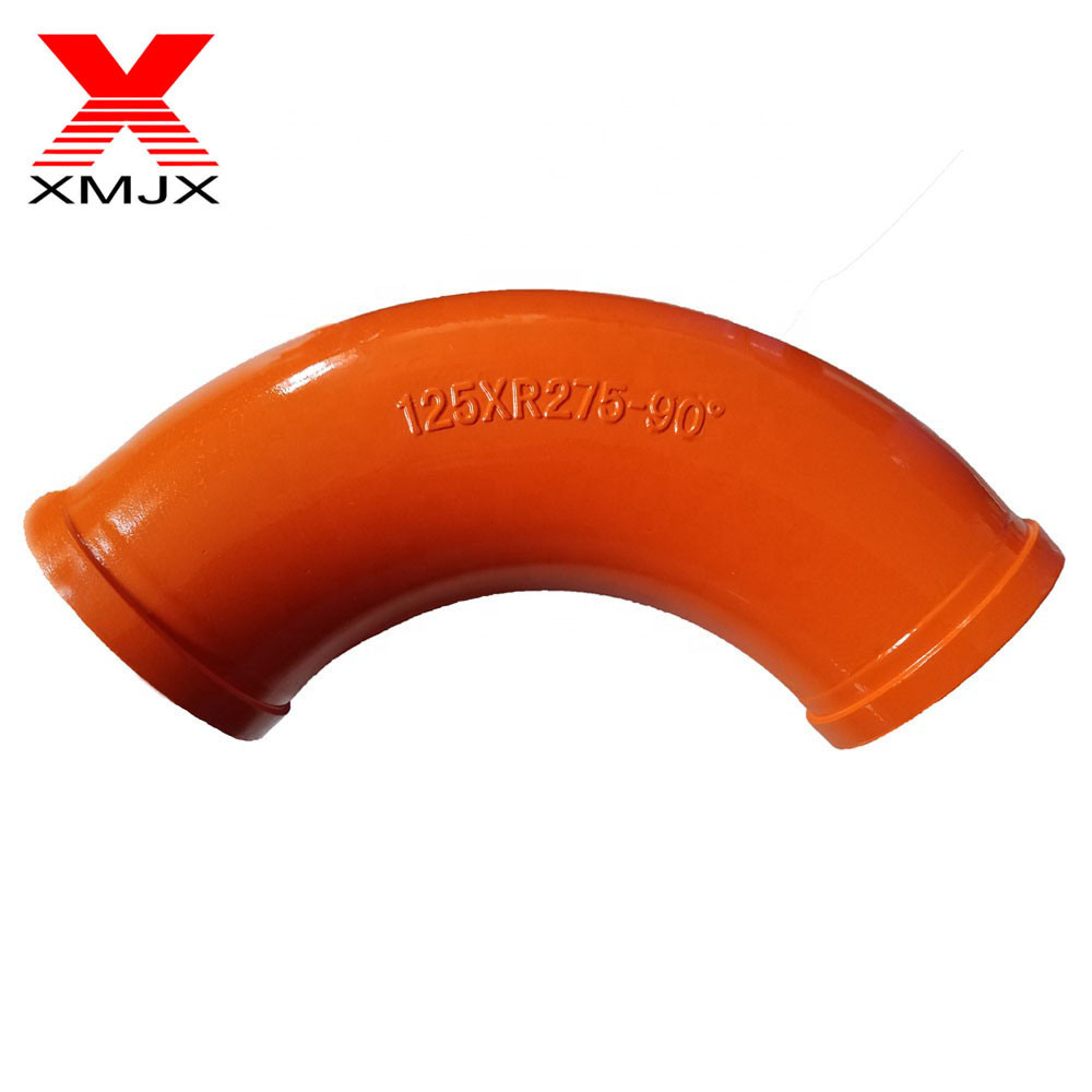 High Performance Construction Machine Concrete Pump Truck Spare Parts Concrete Pump Pipe Elbow