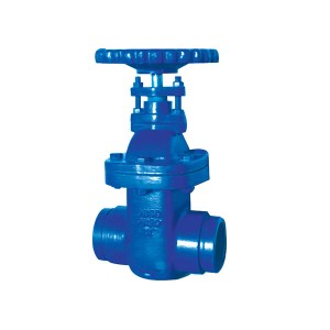 3924 Grooved Ends NRS Metal Seated Gate Valve