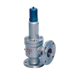 Bellows safety valve