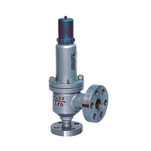Closed spring loaded full bore type high pressure safety valve