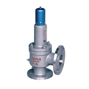 Closed spring loaded full bore type safety valve