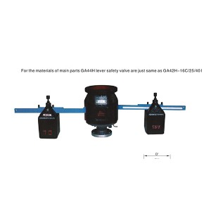 Dual-lever safety valve