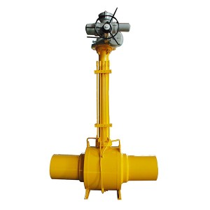 Forged Steel Trunnion Mounted Fully Welded Ball Valve