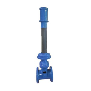 GD1 GD2 BS5163 AWWA C515 NRS Resilient Seated Gate Valve with Extension Spindle