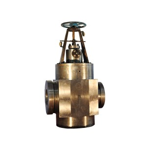 Hydraulic three-way valve for water supply of high-pressure heater