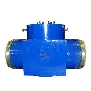 Plugging valve for hydraulic test