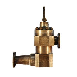 Pressure reducing valve for soot blowing reducing station of air pre-heater