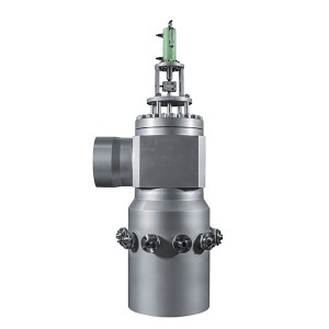 Temperature and pressure reducing valve for low pressure bypass