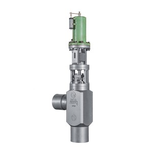 Water spray regulating valve for high pressure bypass