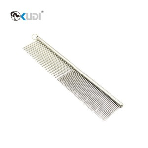 Metal Pet Finishing Comb
