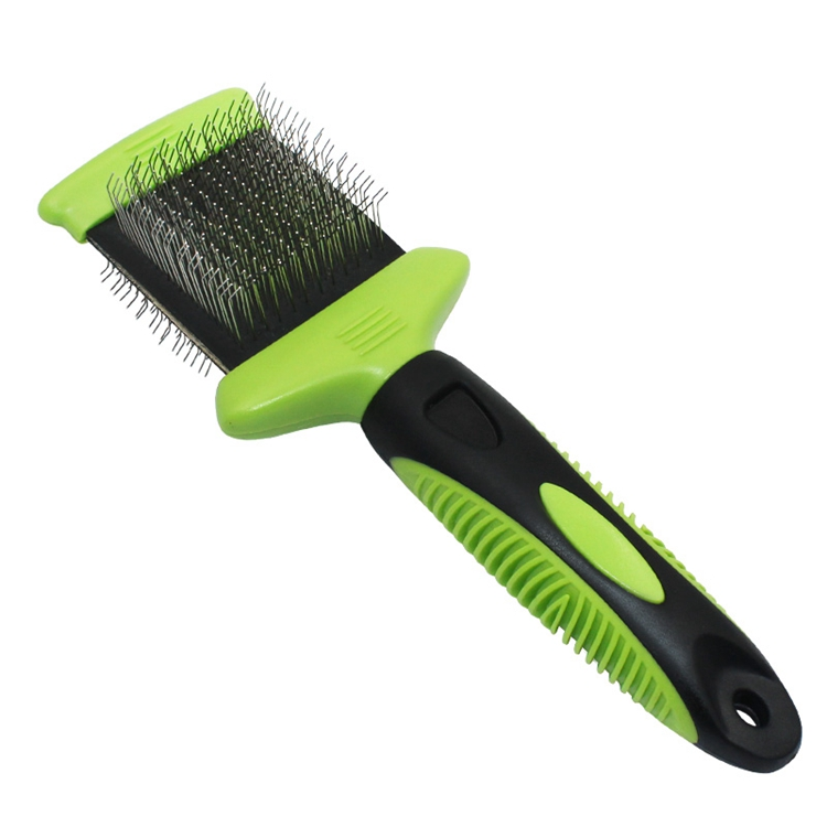 Double Sided Flexible Pet Slicker Brush
