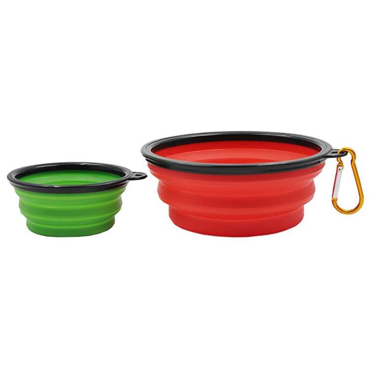 Collapsible Dog Food And Water Bowl