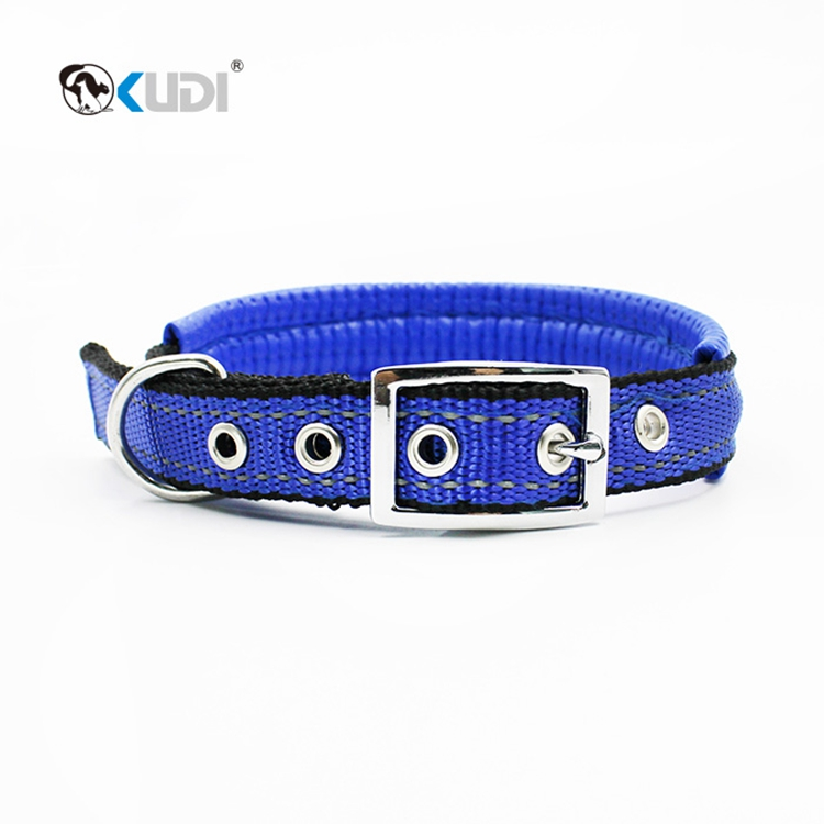Reflective Fabric Dog Collar