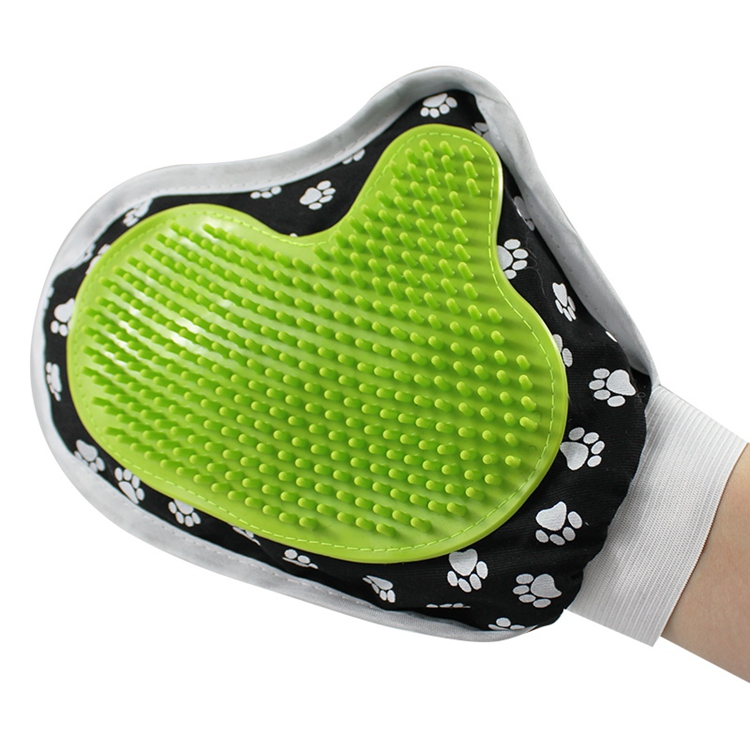 Pet massage grooming glove