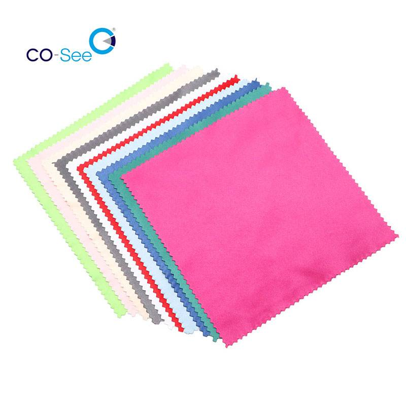 Durable Multi Colors Best Microfiber Lens Eyeglasses Cleaning Cloth Featured Image