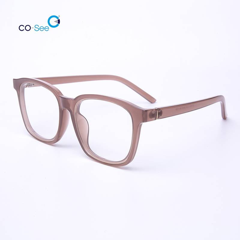 New Korea Stylish Handmade Clear Round Optical Eye Glasses Frames Featured Image