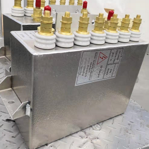 Newly designed Induction heating capacitor for intermediate frequency furnace