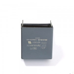 Innovative metalized plastic AC film capacitor for PV power converter 250KW