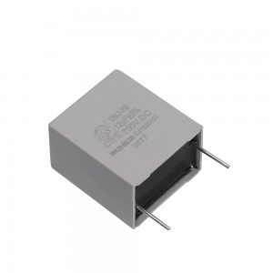 Pin terminal PCB capacior for high-frequency / high-current applications