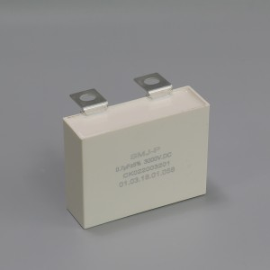 Metalized film IGBT Snubber capacitor