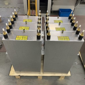 Oil-filled Electric capacitor for induction heating furnace