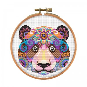 Home decor DIY embroidery color animal pattern cross stitch kit handmade cross-stitch kits. 15098