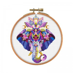 Home decor DIY embroidery colorful animal pattern cross stitch kit handmade cross-stitch kits    15101