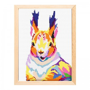 Hot Sales Needlework Cross Stitch Handmade Craft Arts Animal Printed Cross Stitch Embroidery   15195