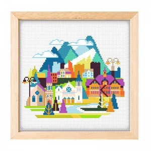 Home hotel restaurant decoration cross stitch needlework cross stitch set 15094