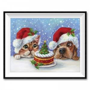 Factory Direct Sale Christmas Pattern DIY Diamond Painting Home Decoration Craft Design Pattern Diamond Art Painting12060