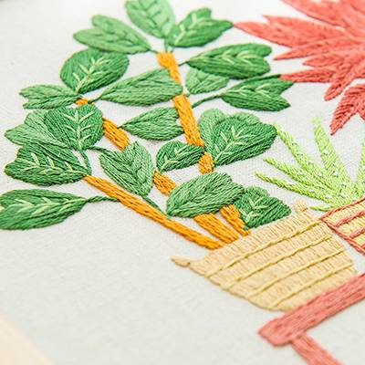 Embroidery is the general term for any decorative pattern embroidered on fabric with needles and thread.