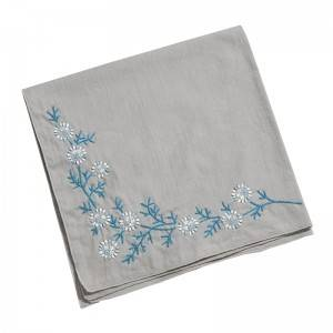 High quality  Handkerchief Colored Embroidered Square Hanky Ladies Handkerchief  513501