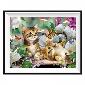 Round/square diamond painting using wall decoration cross stitch DIY full diamond  painting animal pattern12021