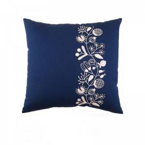Wholesale embroidery flower design fashion decorative throw pillows for home cushion511606
