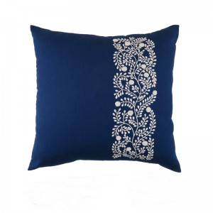 Wholesale embroidery flower design fashion decorative throw pillows for home cushion511607