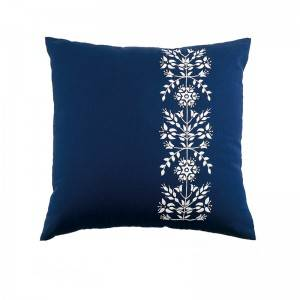 Wholesale embroidery flower design fashion decorative throw pillows for home cushion511608