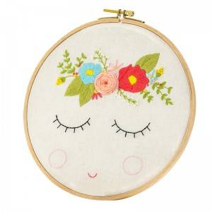 Customized Embroidery Set DIY Handmade Sewing Craft Embroidery Kits for Beginner  511126