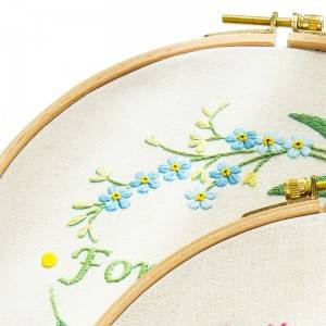Customized Embroidery Set DIY Handmade Sewing Craft Embroidery Kits for Beginner 511128