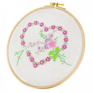Customized Embroidery Set DIY Handmade Sewing Craft Embroidery Kits for Beginner  511132